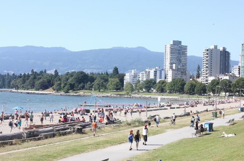 밴쿠버 시민들의 많 은 사랑을 받는 잉글리시 베이